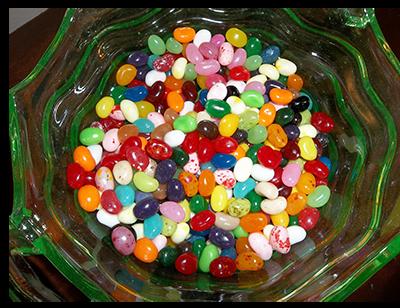 jelly bean bowl